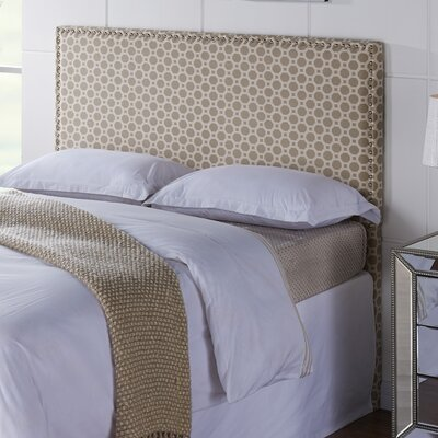Third Avenue Hexagon Upholstered Panel Headboard Size: Full / Queen