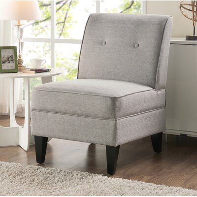 Klein Slipper Chair Upholstery: Dove Gray