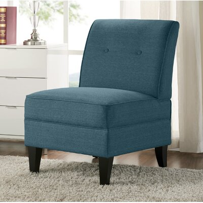 Klein Slipper Chair Upholstery: Blue