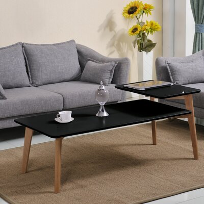 Simmers Coffee Table Table Top Color: Matte Black