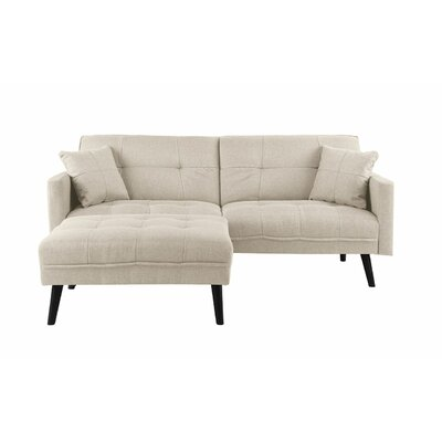 Roldan Sleeper Sofa Upholstery: Beige