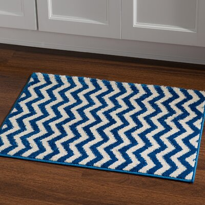 Laleia Blue Area Rug Rug Size: Rectangle 2 x 3