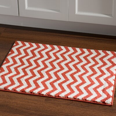 Park Row Terracotta Area Rug Rug Size: Rectangle 2 x 3