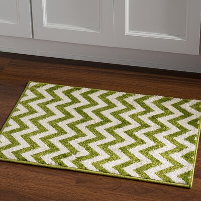 Amidon Green Area Rug Rug Size: Rectangle 2 x 3