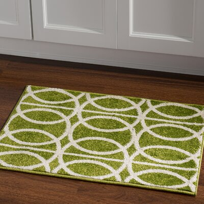 Jambi Green Area Rug Rug Size: Rectangle 2 x 3