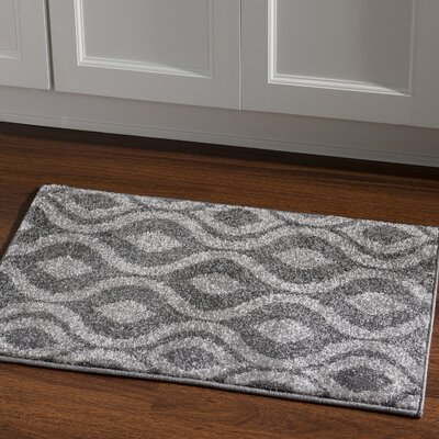 Park Row  Grey Area Rug Rug Size: Rectangle 2 x 3