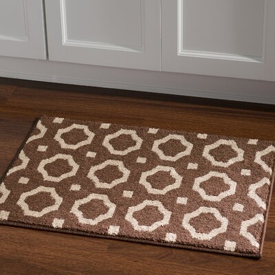 Queanbeyan Brown Area Rug Rug Size: Rectangle 2 x 3