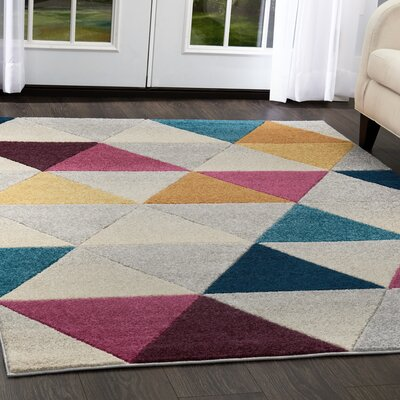 Prendergast Gray Area Rug Rug Size: 710 x  106