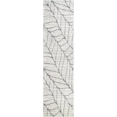 Sackett Light Gray Area Rug Rug Size: Runner 25 x 95