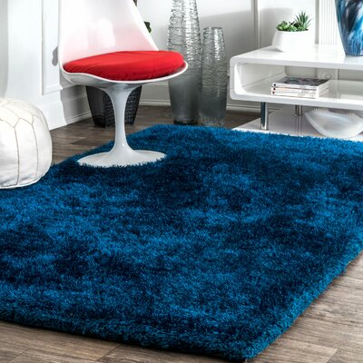 Shadwick Teal Area Rug Rug Size: Rectangle 76 x 96