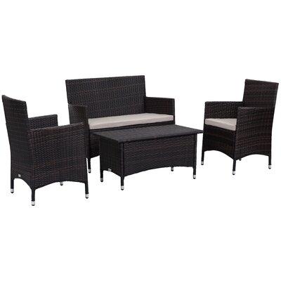4-Piece Carole Patio Seating Group