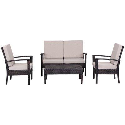 4-Piece Mariah Patio Seating Group