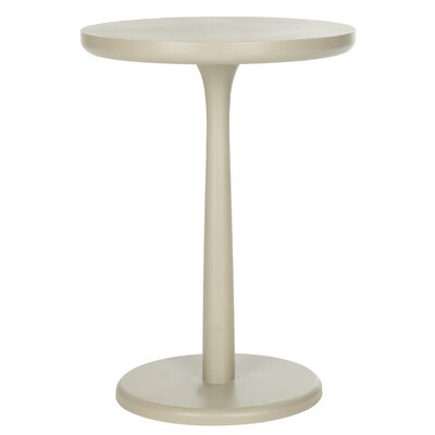 Moultry End Table Color: Pearl Taupe