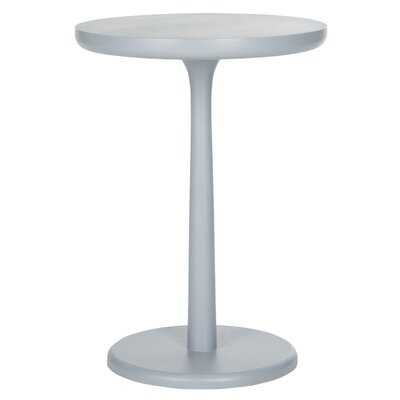 Moultry End Table Color: Pearl Blue Grey