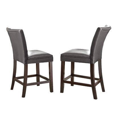 Mcneel Parsons Chair (Set of 2) Upholstery: Grey