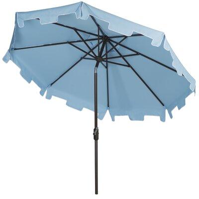 9' Drape Umbrella Fabric: Blue