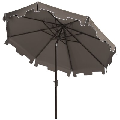 9 Drape Umbrella Fabric: Grey