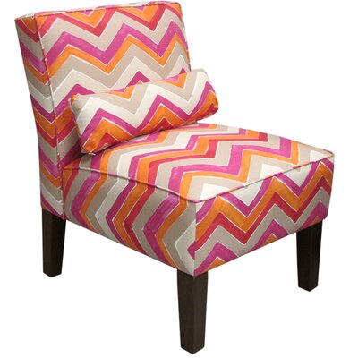 Thurston Slipper Chair Upholstery: Nomad Flamenco