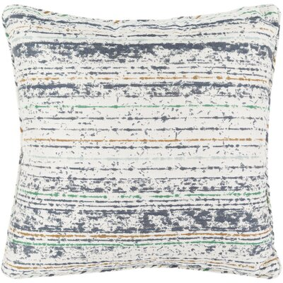 Lamborn Outdoor Throw Pillow Size: 20 H x 20 W x 4 D, Color: Gray/Moss