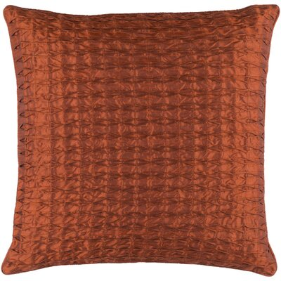 Morillo Throw Pillow Size: 18 H x 18 W x 4 D, Color: Rust