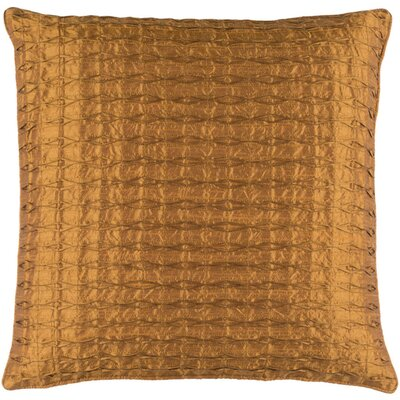 Morillo Throw Pillow Size: 18 H x 18 W x 4 D, Color: Tan