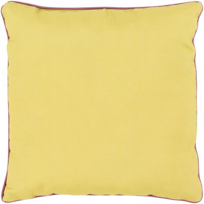 Mowery Outdoor Throw Pillow Size: 20 H x 20 W x 4 D, Color: Gold