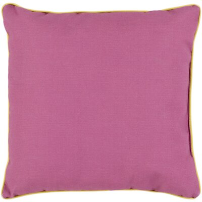 Mowery Outdoor Throw Pillow Size: 20 H x 20 W x 4 D, Color: Magenta