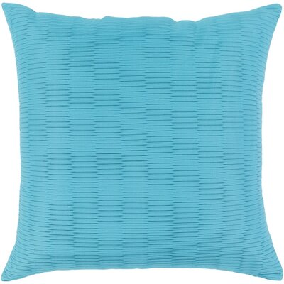 Caplin Catoe Outdoor Throw Pillow Size: 20 H x 20 W x 4 D, Color: Sky Blue