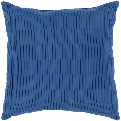 Catoe Outdoor Throw Pillow Size: 16 H x 16 W x 4 D, Color: Cobalt