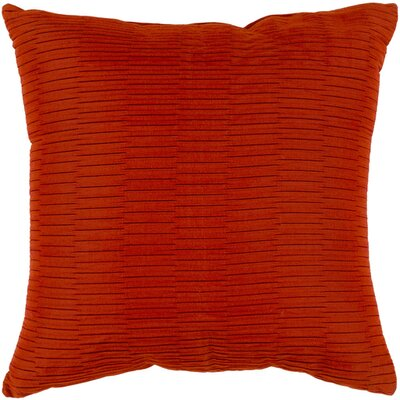 Caplin Catoe Outdoor Throw Pillow Size: 16 H x 16 W x 4 D, Color: Rust
