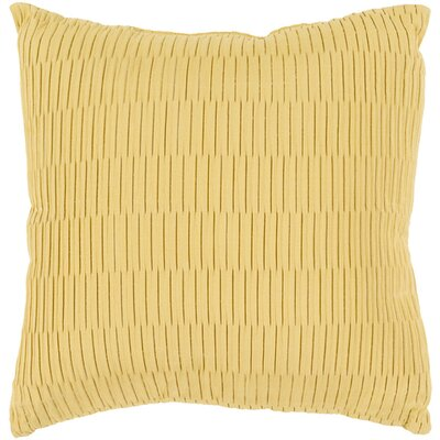 Caplin Catoe Outdoor Throw Pillow Size: 16 H x 16 W x 4 D, Color: Gold