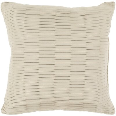 Catoe Outdoor Throw Pillow Size: 16 H x 16 W x 4 D, Color: Neutral