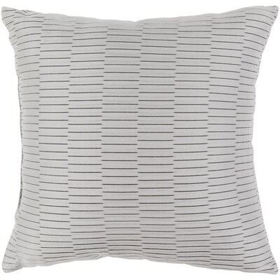 Caplin Catoe Outdoor Throw Pillow Size: 16 H x 16 W x 4 D, Color: Light Gray