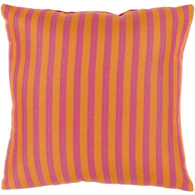Mosquera Indoor/Outdoor Throw Pillow Size: 16 H x 16 W x 4 D, Color: Burnt Orange/Magenta