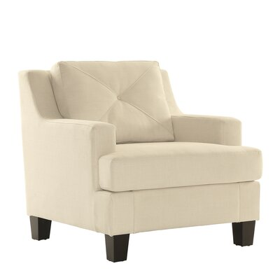 Darion Arm Chair Color: White