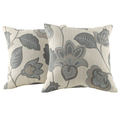 Alcina Throw Pillow in Classica Blue Floral