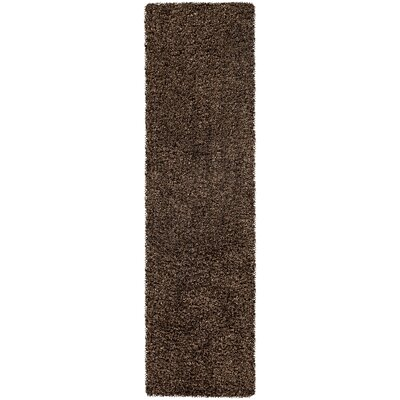 Mchaney Hand-Tufted Brown Area Rug Rug Size: Runner 23 x 8
