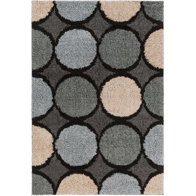 Mcgovern Gray/Beige Area Rug Rug Size: Rectangle 53 x 76