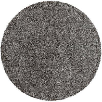 Mchaney Hand-Tufted Beige Area Rug Rug Size: Round 6