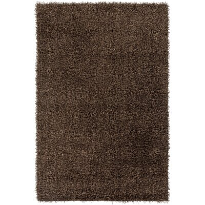 Mchaney Hand-Tufted Brown Area Rug Rug Size: Round 9