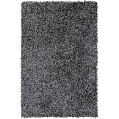 Mchaney Hand-Tufted Gray Area Rug Rug Size: Round 9'
