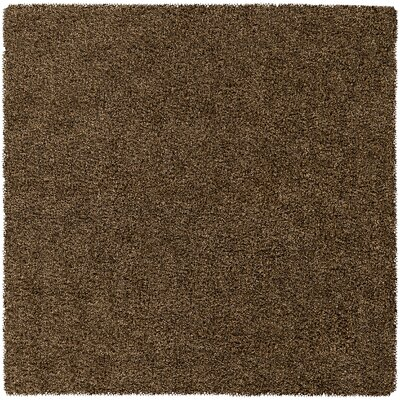Mchaney Hand-Tufted Brown Area Rug Rug Size: Square 8'