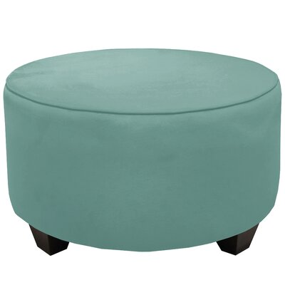 Cocktail Ottoman Color: Caribbean