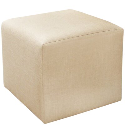 Cube Ottoman Upholstery: Natural