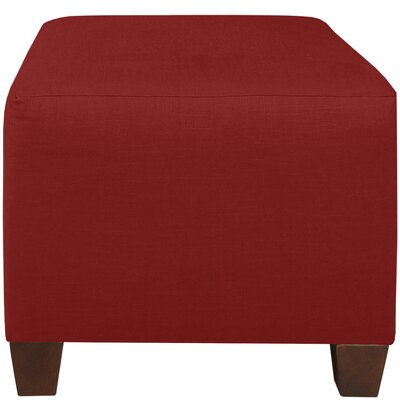 Cube Ottoman Color: Antique Red