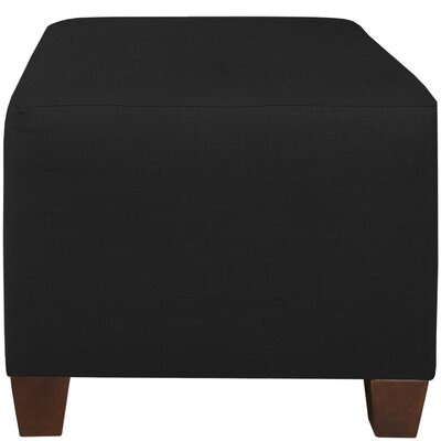 Cube Ottoman Color: Black