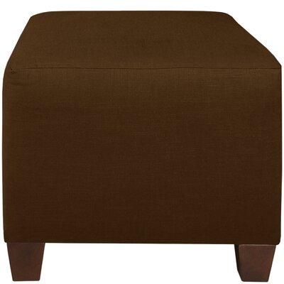Cube Ottoman Color: Chocolate
