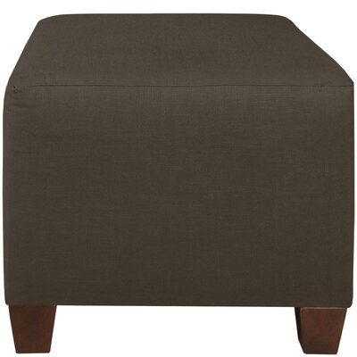 Cube Ottoman Color: Charcoal