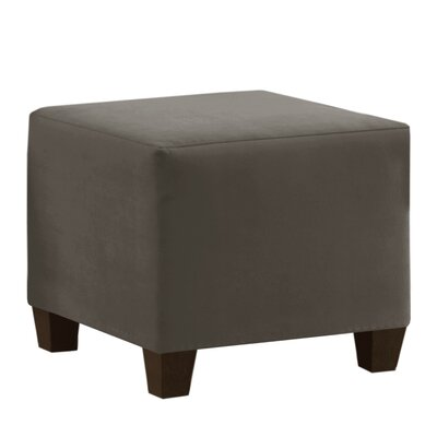 Premier Cube Ottoman Upholstery: Charcoal