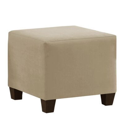 Premier Cube Ottoman Upholstery: Oatmeal